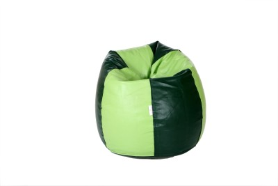 Comfy Bean Bags XXL Bean Bag Cover  (Without Beans)(Green)