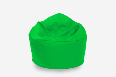 Star XXL Muddha Bean Bag Sofa  With Bean Filling(Green)