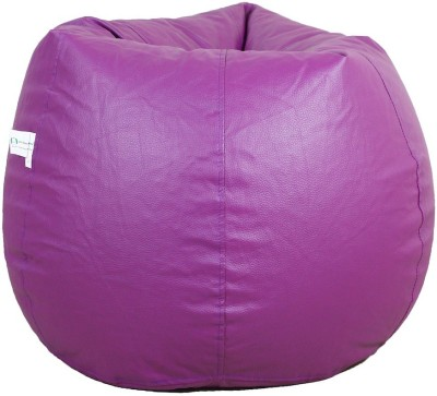 ORKA XXL Bean Bag Cover  (Without Beans)(Purple)