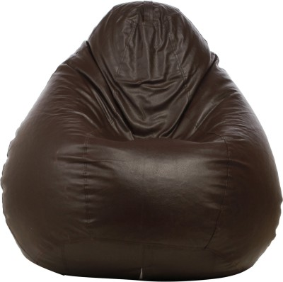Star XL Bean Bag Cover  (Without Beans)(Brown) at flipkart