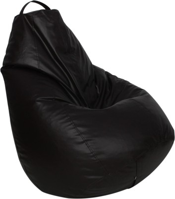 Star XXXL Bean Bag  With Bean Filling(Brown)