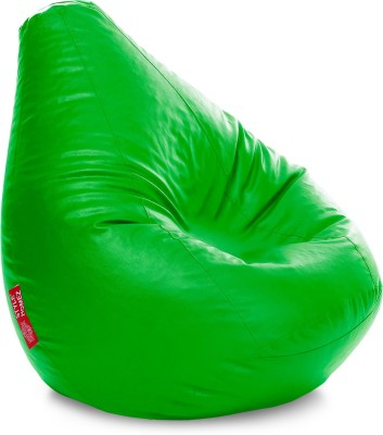 Style Homez XXXL Teardrop Bean Bag Cover  (Without Beans)(Green) at flipkart