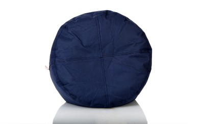 Comfy Bean Bags XL Bean Bag Footstool  With Bean Filling(Blue)