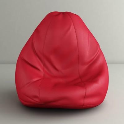 CaddyFull XXL Bean Bag  With Bean Filling(Red)