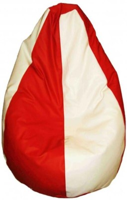 TJAR XXL Bean Bag Cover(Red)