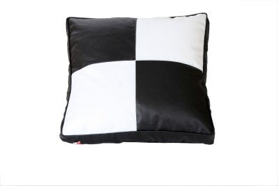 Comfy Bean Bags XL Bean Bag Cover  (Without Beans)(Black, White)
