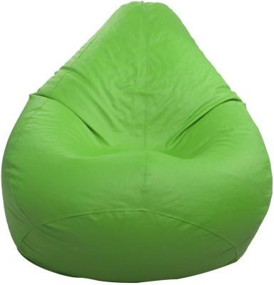Styleco XXXL Bean Bag Cover  (Without Beans)(Green) at flipkart
