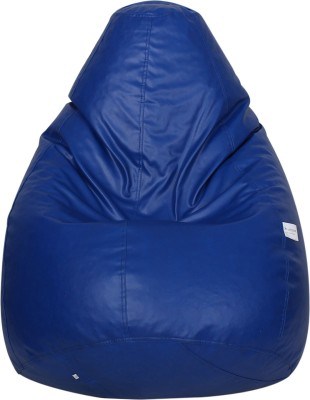 Star XXL Muddha Bean Bag  With Bean Filling(Blue)