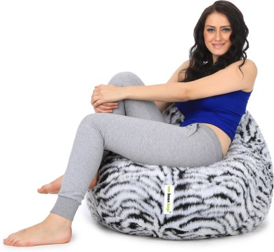 Can bean bags XXXL Bean Bag Cover  (Without Beans)(Multicolor) at flipkart