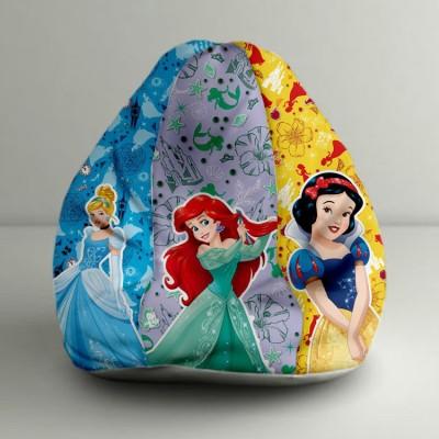 ORKA XXXL Princess Digital Printed Bean Bag  With Bean Filling(Multicolor) at flipkart