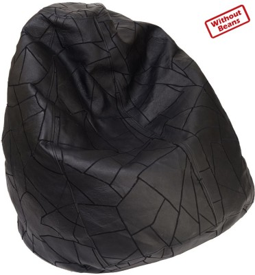 01e9cb952ca 2ndMay Medium Teardrop Bean Bag Cover (Without Beans)(Black)