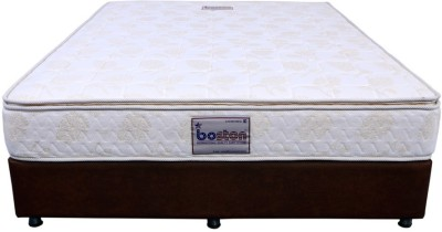 Boston Pocket Spring With Pillow Top 10 inch Single Pocket Spring Mattress at flipkart