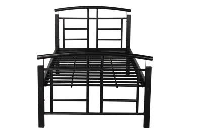 Godrej Interio Fiona Mod Metal Single Bed(Finish Color -  Black)