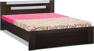 Debono Classy FW NB Bed Engineered Wood Queen Bed(Finish Color -  Wenge & Silver Grey)