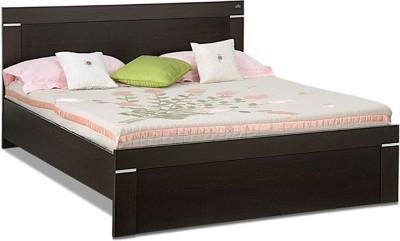Debono Solitaire Wenge Engineered Wood Queen Bed(Finish Color -  Wenge)
