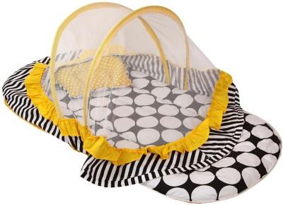 Bacati Velcro Cotton Bedding Set(Black, Yellow) at flipkart