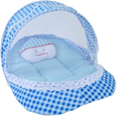 Chhote Janab Velvet Bedding Set(Blue) at flipkart
