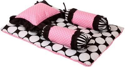 Bacati Velcro Cotton Bedding Set(Multicolor) at flipkart