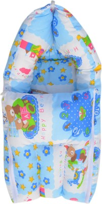 Younique Pure Cotton Baby Bed Carrier/Sleeping Bag Sleeping Bag(Blue)