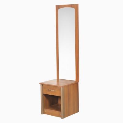 Godrej Interio Adrina Drng Tab(wStool)Walnut Engineered Wood Dressing Table(Finish Color - Walnut)