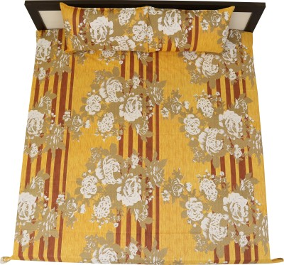 Sleepwell 4 TC Cotton Double King Printed Bedsheet(Pack of 1, Multicolor) at flipkart