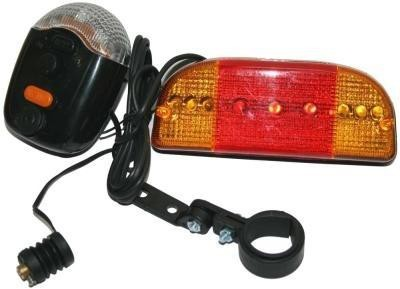 CycLex Bicycle Indicator With Horn And Light Bell