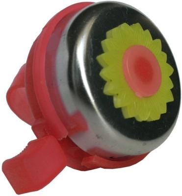 Adraxx Flower Power Bicycle ring 2 Bell Red