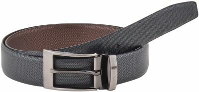 Pacific Gold Men Formal Black, Brown Artificial Leather Reversible Belt