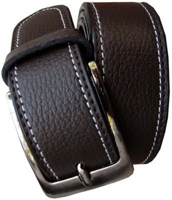 Winsome Deal Men Formal Brown Artificial Leather Belt  available at flipkart for Rs.175