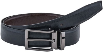 Pacific Gold Men Formal Black, Brown Artificial Leather Reversible Belt