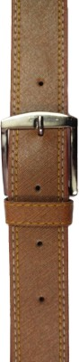 Ansh Fashion Wear Men Casual Brown Artificial Leather Belt  available at flipkart for Rs.192