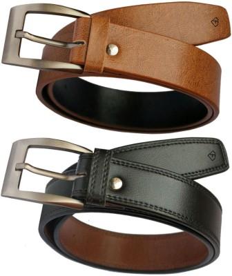 Fashius Men Multicolor Artificial Leather Belt Fashius Belts