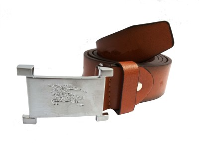Mode Boys Casual, Formal Brown Genuine Leather Belt