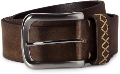 Louis Philippe Men Brown Artificial Leather Belt