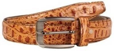 Scharf Men Formal, Casual Tan Genuine Leather Belt