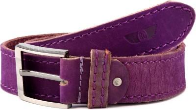 Royster Callus Men Casual Purple Genuine Leather Belt