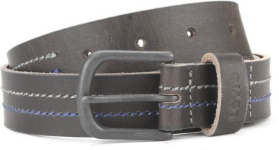 Levi's Men Khaki Genuine Leather Belt