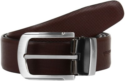 Amicraft Boys Formal, Party, Casual Black, Brown Genuine Leather Reversible Belt