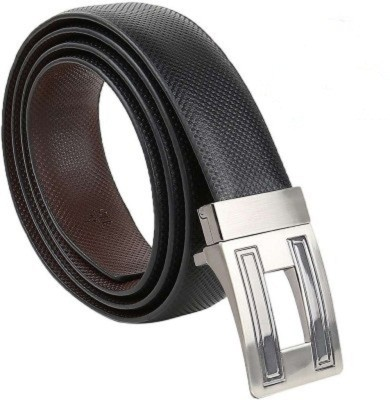 Global Leather Boys Formal, Casual, Party, Evening Black, Brown Genuine Leather Reversible Belt