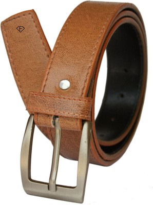 Fashius Men Tan Artificial Leather Belt
