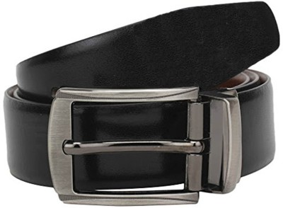 Zoster Boys Casual, Formal Brown, Black Genuine Leather Reversible Belt