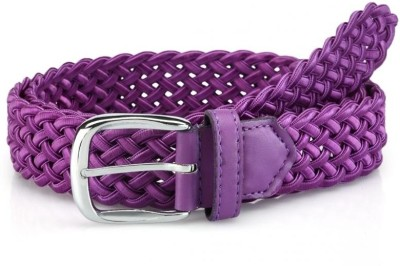Oleva Women Casual, Formal Purple Genuine Leather Belt  available at flipkart for Rs.149