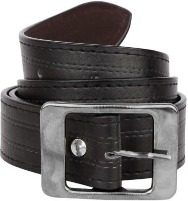Rocksy Men Casual Black Artificial Leather Belt