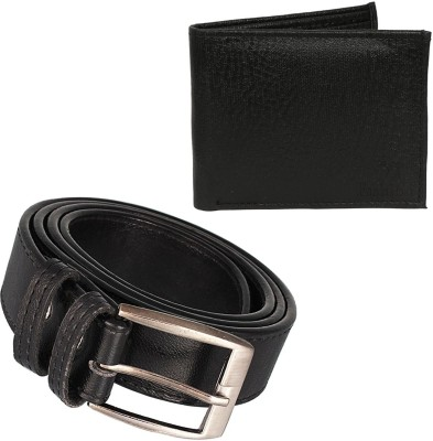 Fashion Planet Boys Casual Brown Genuine Leather Belt