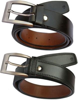 Fashius Men Multicolor Artificial Leather Belt