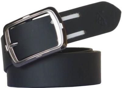 Sondagar Arts Men Formal Black Genuine Leather Belt