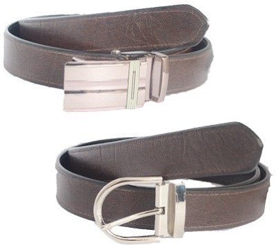 Aam Shopping Men Casual Multicolor Genuine Leather Reversible Belt