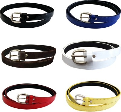 SRI Women Casual, Party Blue Artificial Leather Belt
