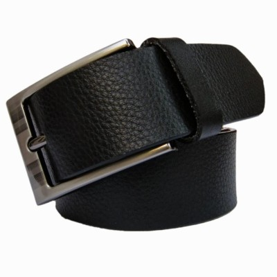 Winsome Deal Men Casual Black Genuine Leather Belt