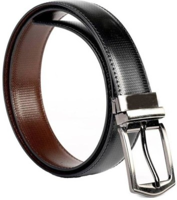 Abrose Boys Casual, Party, Formal, Evening Black, Brown Genuine Leather Reversible Belt